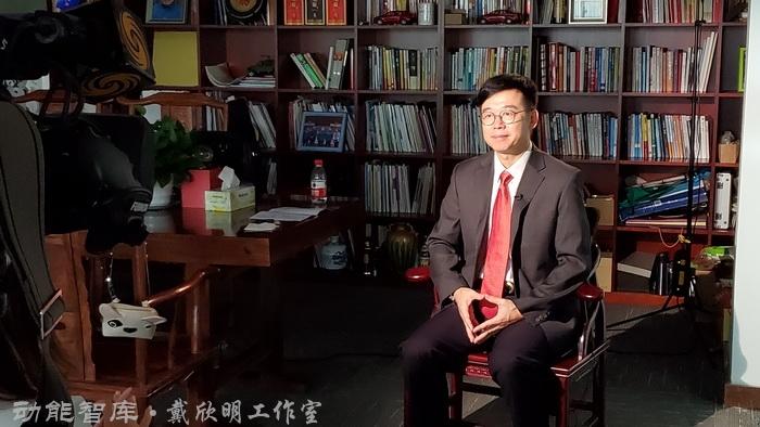 高端访谈:戴欣明接受凤凰卫视《财智菁英汇》采访-中美贸易战的前提下,服务业升级转型,深圳租赁房市场新政两个节目录制