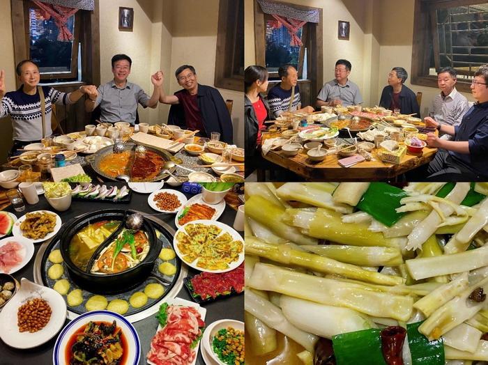金佛山独特的自然环境为美食制作提供了丰富的食材,也让饱含地域特色的南川美食在地方菜系中自成体系。重庆人爱吃火锅,而金佛山方竹笋也是南川人打火锅常见的菜肴。